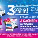 Tirages au sort du 20e Salon international de la Plongée sous-marine « 3 jours de folie »