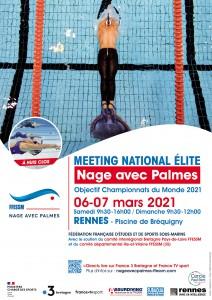2021-MTG RENNES Affiche_FFESSM_MeetingElite_Rennes_Mars2021_V3