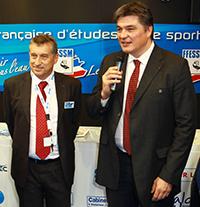 JLBlanchard et le ministre des sports David Douillet copie